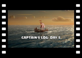 Clash of Clans: Captain's Log Day 5 - Arrival